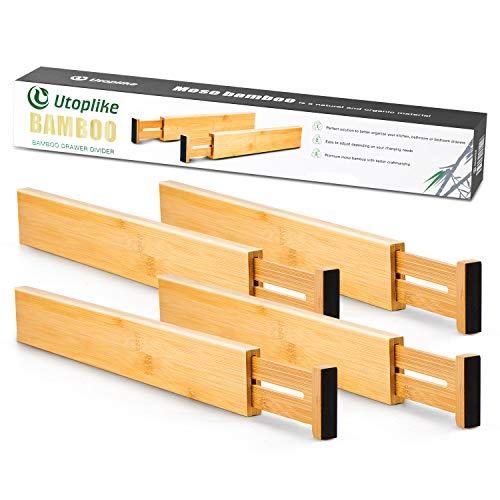 Top 10 Schubladenteiler Verstellbar Holz – Küchenschubladeneinsätze