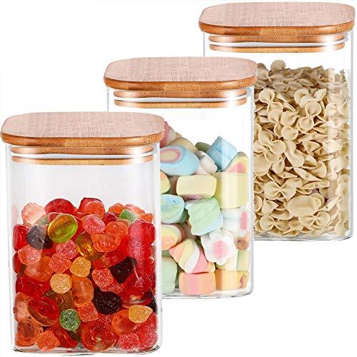 Top 10 Vorratsbehälter Glas eckig mit Deckel – Vorratsdosen