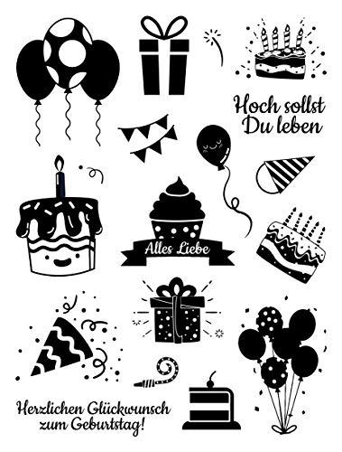 Top 9 Einladung Stempel Geburtstag – Scrapbooking-Stempel