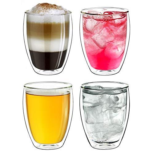 Top 10 Doppelwandige Gläser 250ml – Kaffee- & Teegläser
