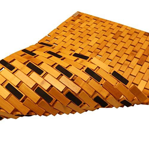 Top 10 Badematte Holz rutschfest – Badematten & Badteppiche