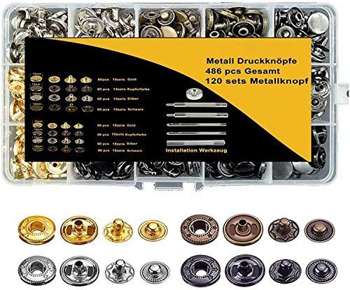 Top 9 Druckknopf 10mm Metall – Druckknöpfe