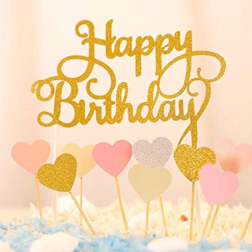 Top 9 Kuchendeko Happy Birthday Glitzer – Dekorationswerkzeuge