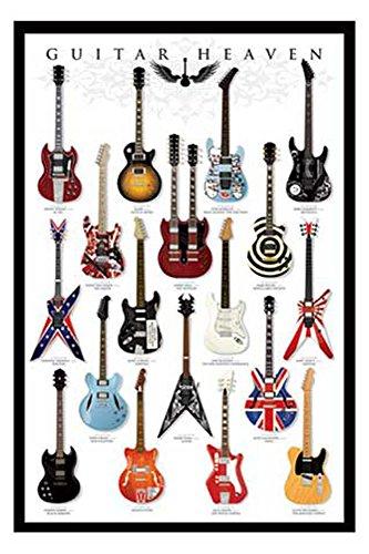 Top 7 Guitar Heaven Poster – Poster & Kunstdrucke