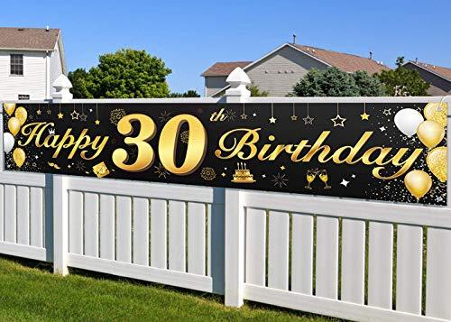 Top 10 Banner Geburtstag 30 – Partybanner