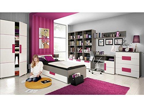 Top 10 Jugendzimmer Komplett Set Mädchen mit Schreibtisch – Komplettprogramme für Kinder- & Jugendzimmer