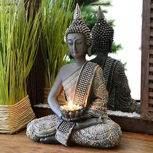Top 8 Buddha Statue – Teelichthalter