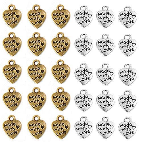 Top 10 Charms Anhänger Herz Silber – Charms