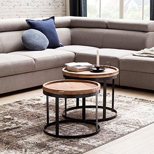Top 10 Akazie Massivholz Beistelltisch – Beistelltische fürs Wohnzimmer