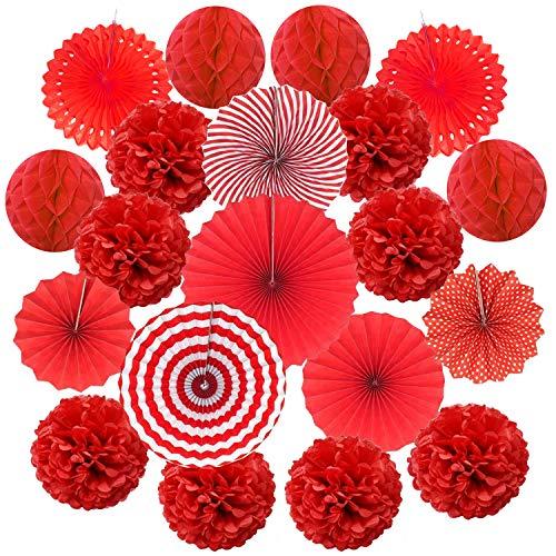 Top 9 rot Weiß Deko – Deko für Zeremonie