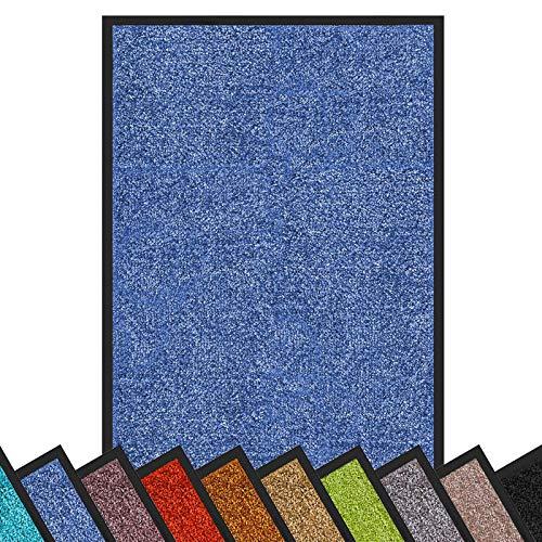 Top 10 Schmutzfangmatte waschbar blau – Fußmatten