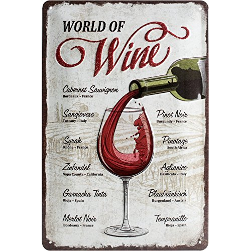 Top 9 Blechschild Wein Retro – Wand- & Türschilder