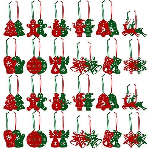 Top 7 Christbaumschmuck grün rot – Weihnachtsbaumanhänger