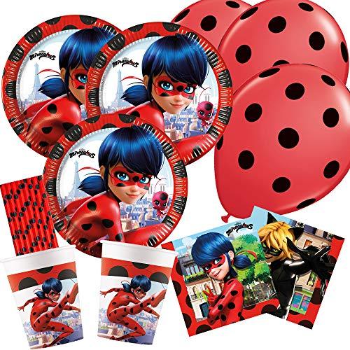 Top 10 Ladybug Geburtstag Deko – Partygeschirr