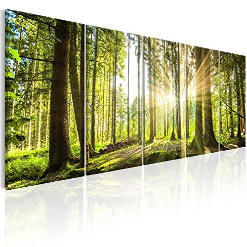 Top 10 Wald Leinwandbild Groß – Poster & Kunstdrucke