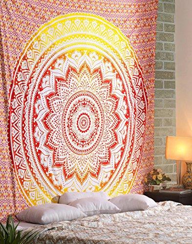 Top 10 Wandtuch Mandala Orange – Wandteppiche